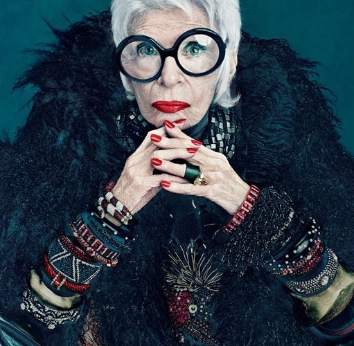 Iris Apfel – my colorful mix-and-match idol