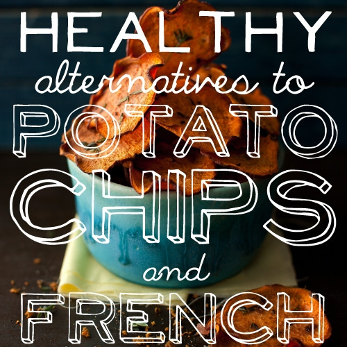 Recipe: 25 Baked Alternatives to patatoe chips and french fries