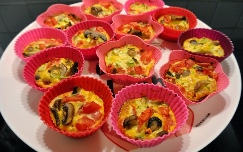 Recipe: Healthy snack or an alternative way of eating frittata