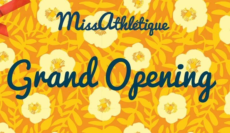 Welcome to Miss Athlétique or how it all began