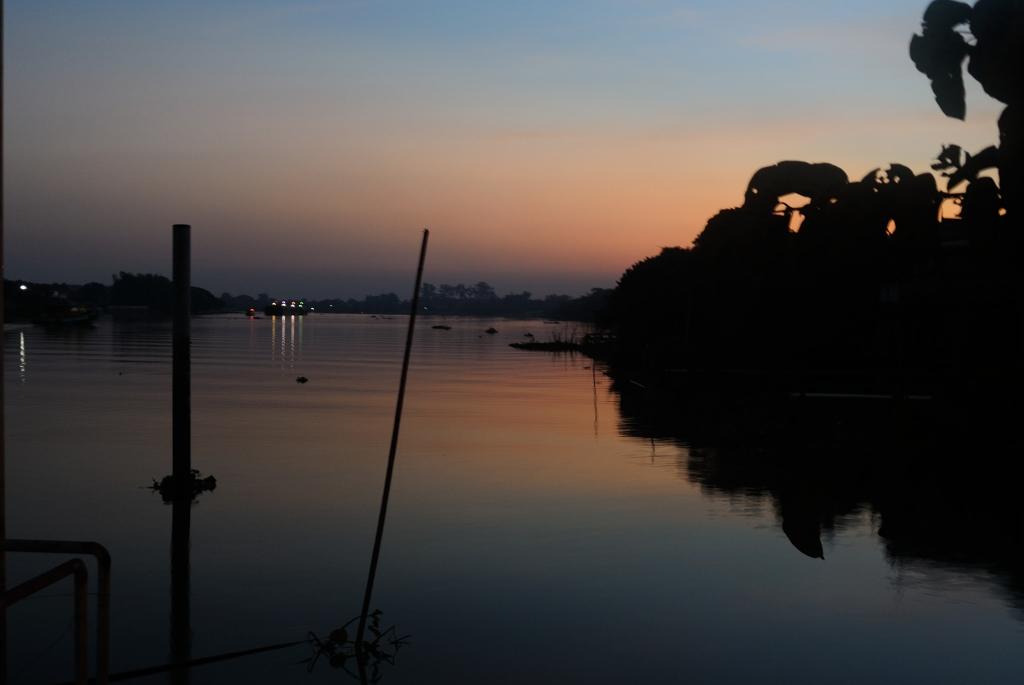 Thailand_sunset_ chaopraya