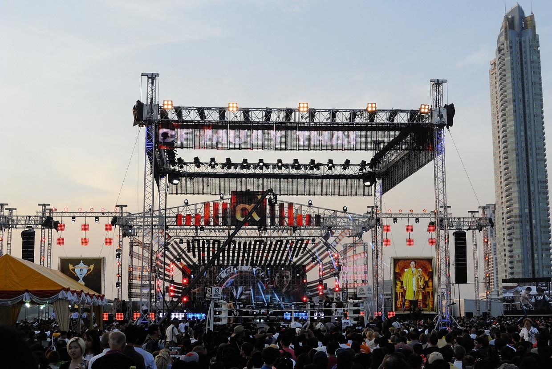 King of Muay Thai finals at Bagkok