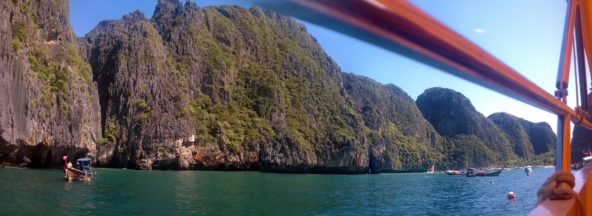 Viking cave at Andaman sea
