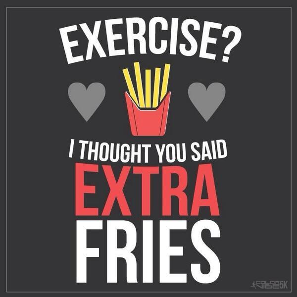 Not exercising