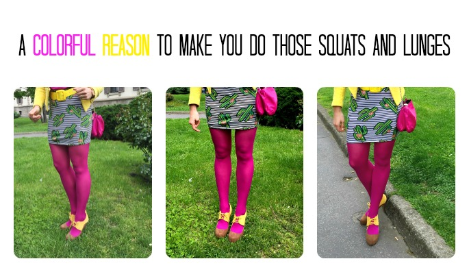 Workout: A colorful reason why you should workout your legs