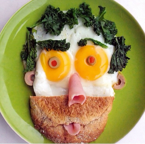 Cute Breakfast egg idea