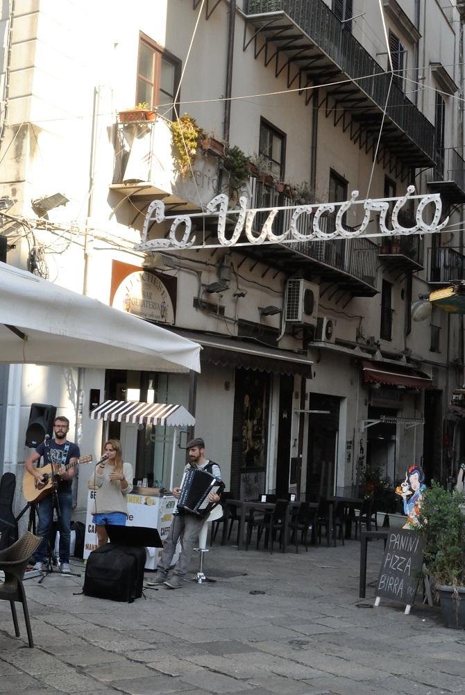 la Vucciria Street market