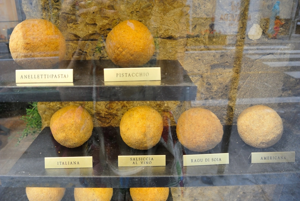 some more types of arancini