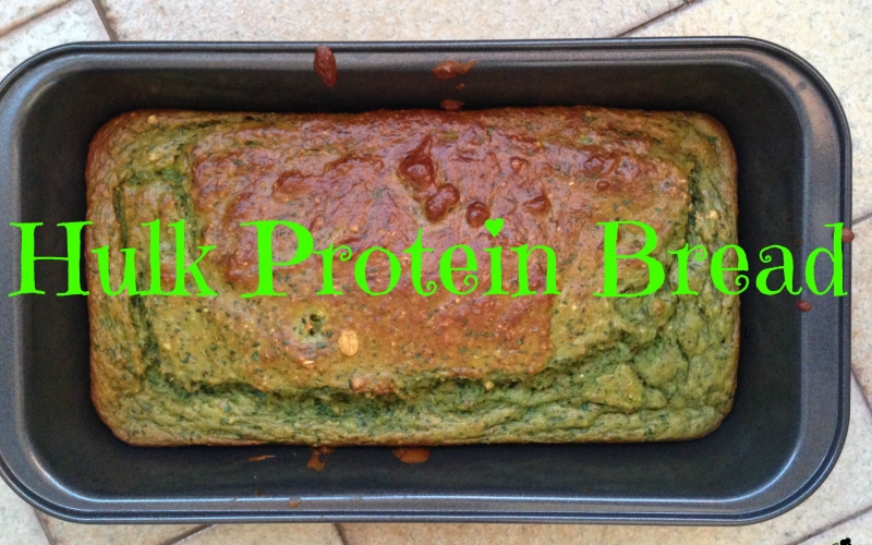 Recipe: Hulk Protein Bread