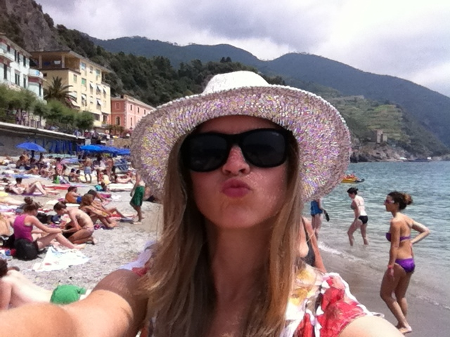 Selfie from Liguria, Italy