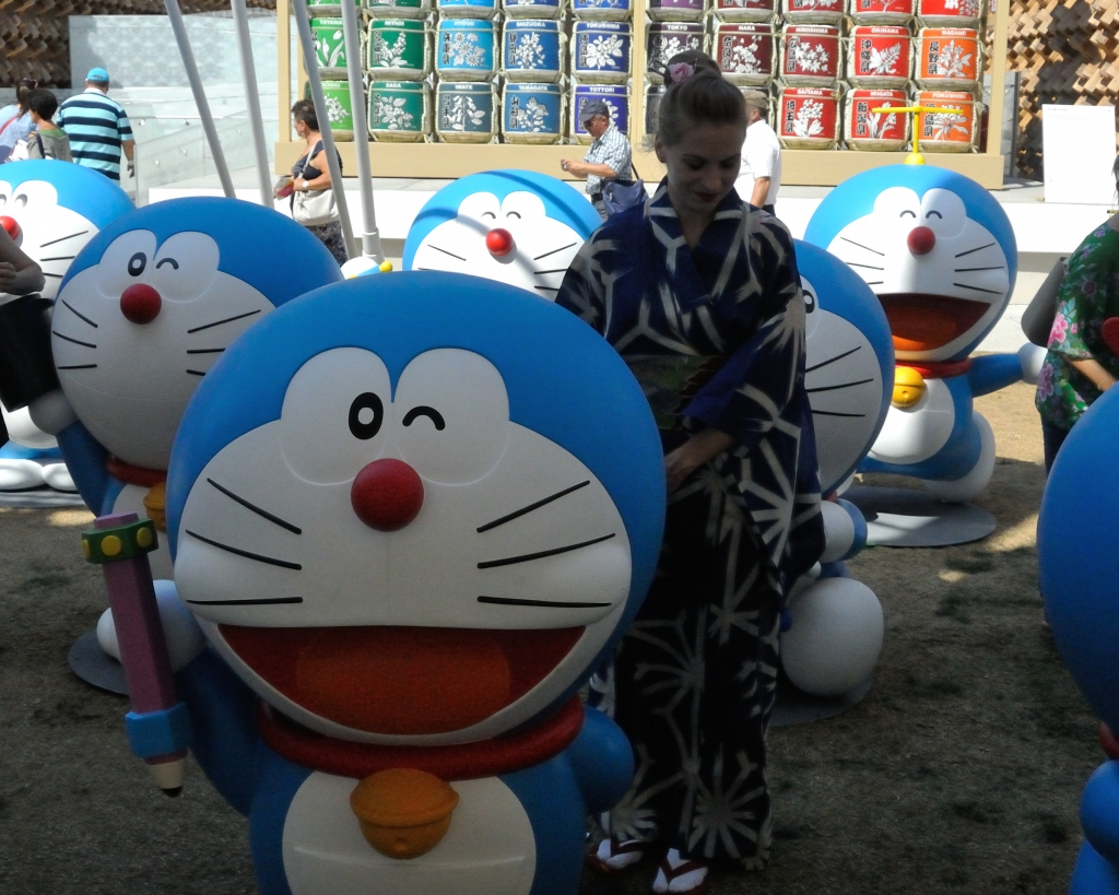 The blue team - Doraemon and me