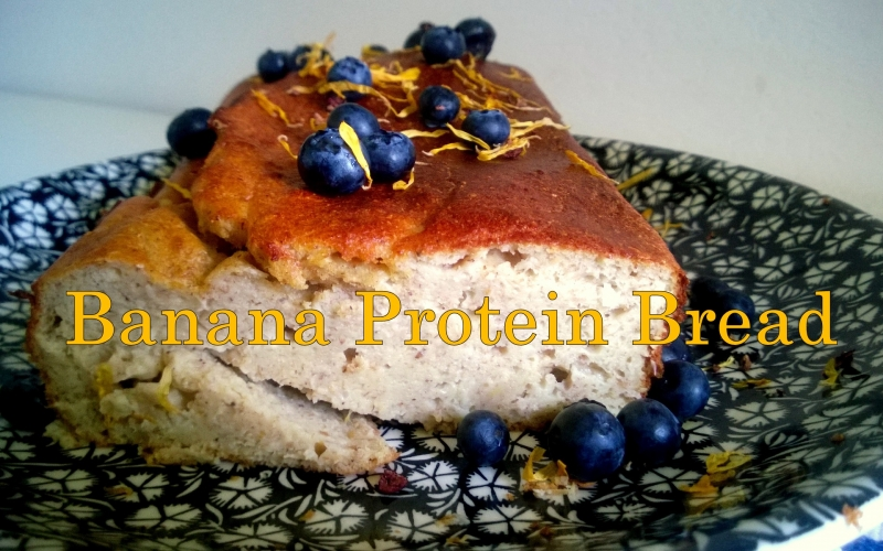 Recipe: Banana protein bread