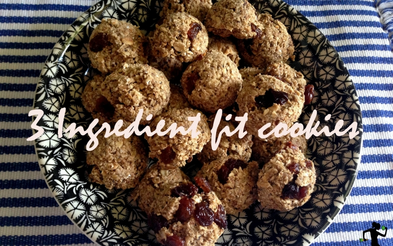 Recipe: 3 ingredient fit cookies