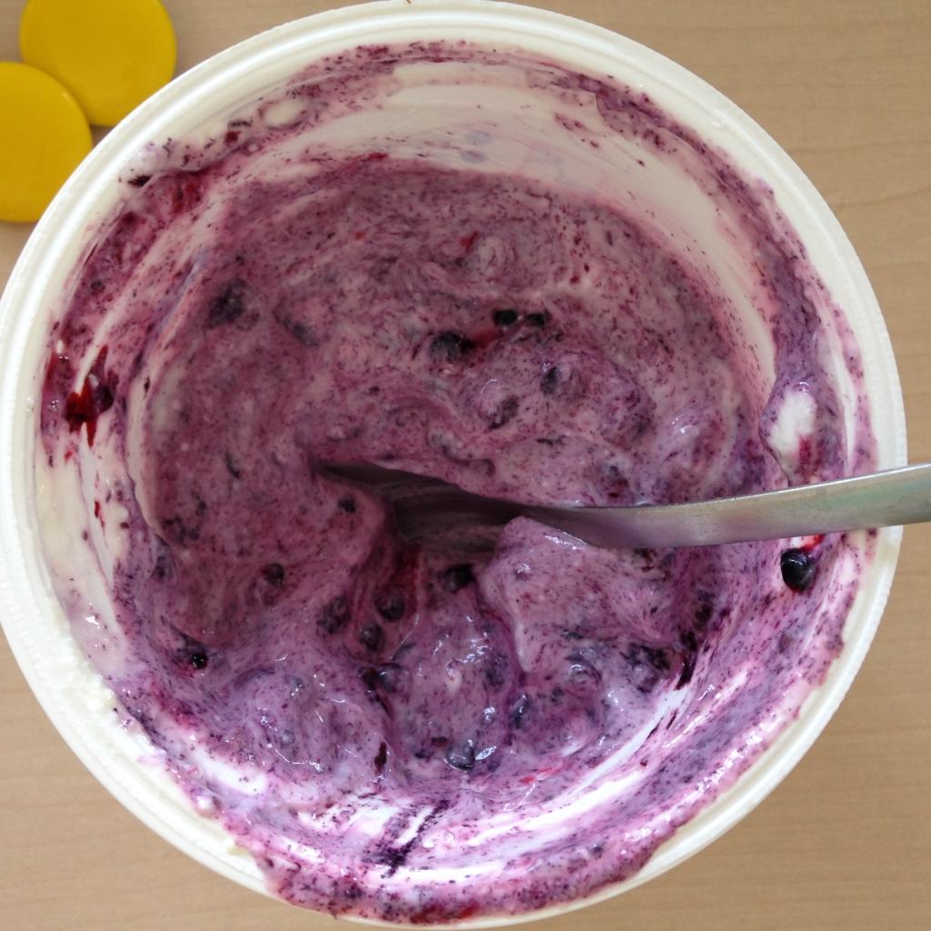 Greek yogurt with drewberries