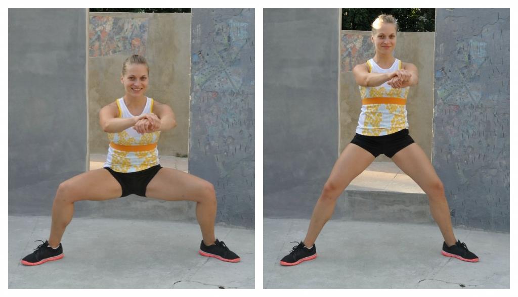 move 6 - sumo squat