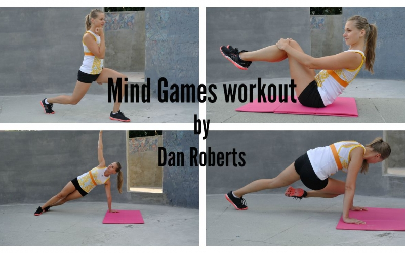 Mind Games workout challenge by Dan Roberts accepted