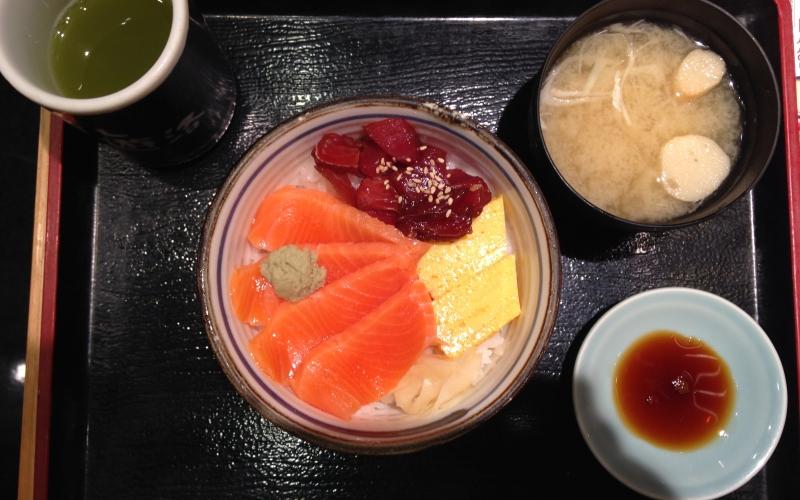 Survival guide how to eat healthy in Japan