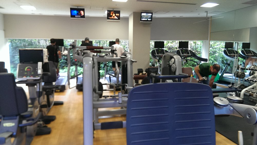 fitness club equipment