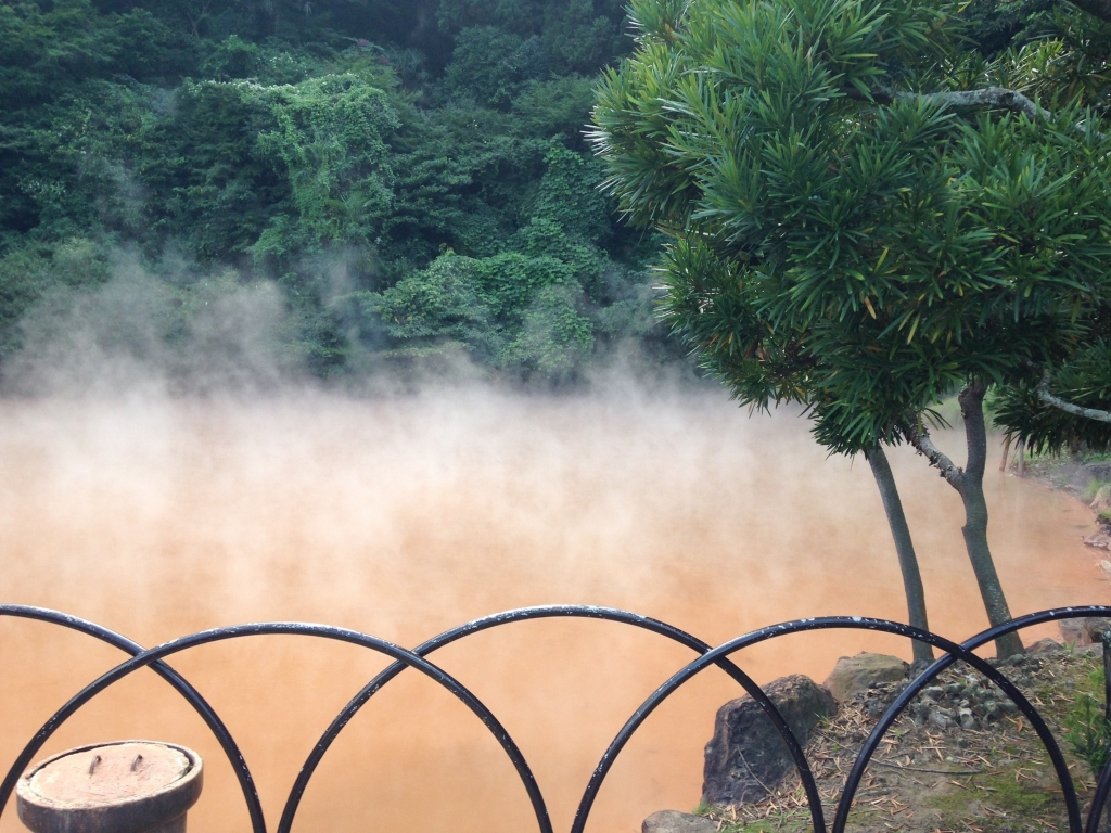 Red Hot springs of Beppu