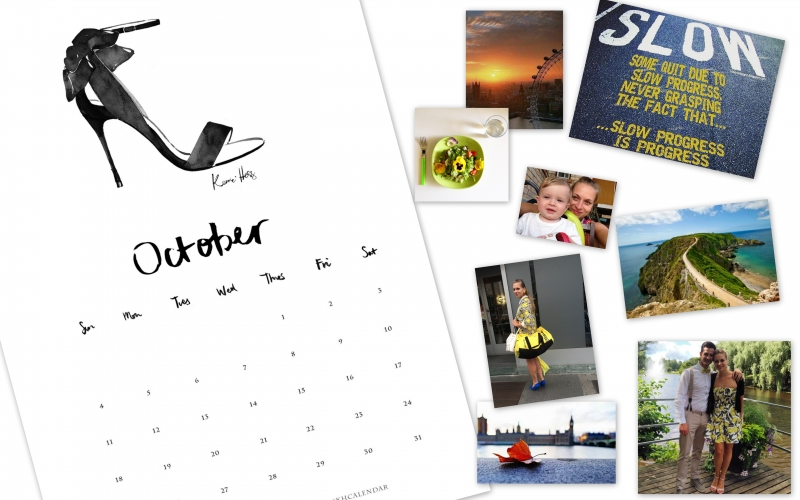 October is for pumpkins, goal setting and travels