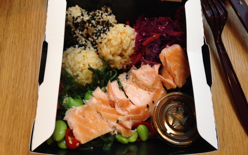 How to eat healthy at London Gatwick airport