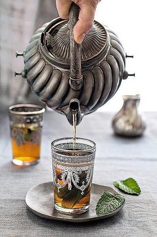 moroccon tea pot