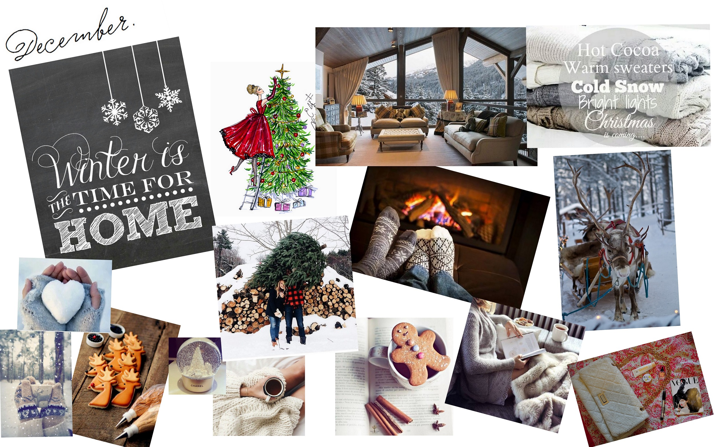 December Mood Board: 12 Things to Get Excited About ThisMonth