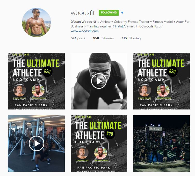 Woodfit on instagram