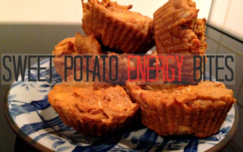 Sweet potato energy bites – guilt free, easy and sweet recipe