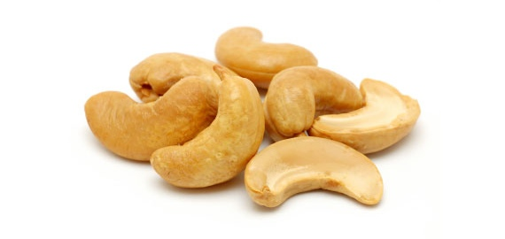 Cashews are rich with zinc