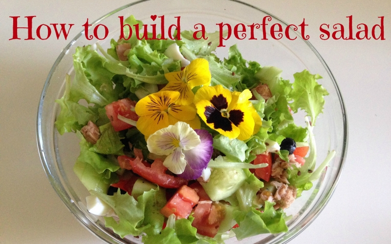 How to shop and build a perfect salad