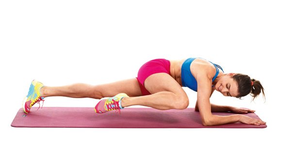 Spiderman planks exercise