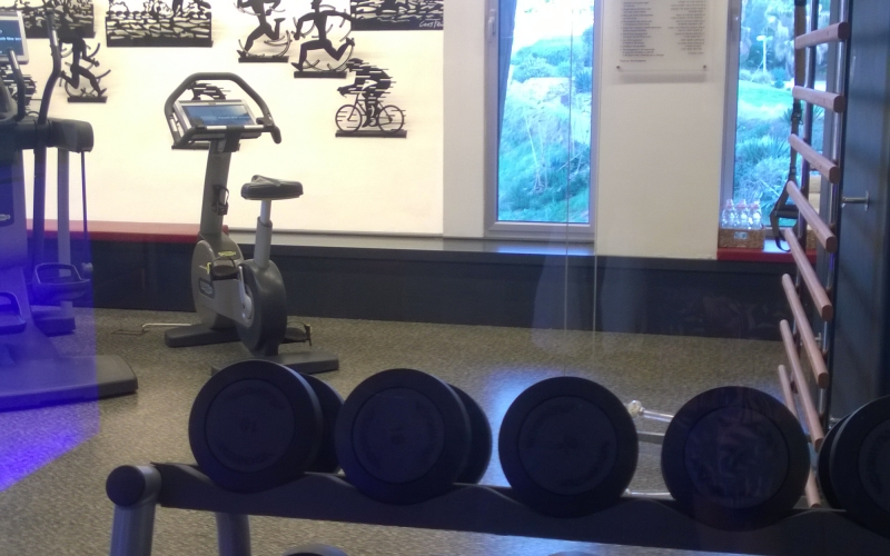 Hotel Gym review: Leg day at Carlton Tel Aviv