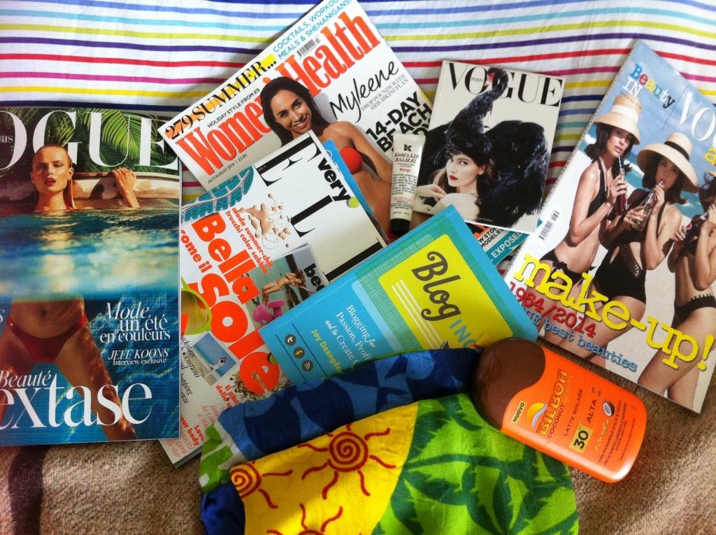 magazines moodboard