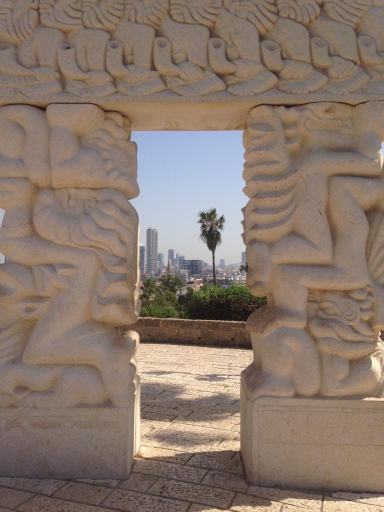view to Tel Aviv