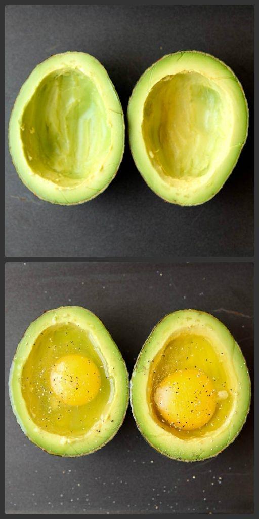 oven baked avocado
