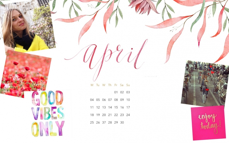 Monthly inspiration moodboard – Positive Vibes