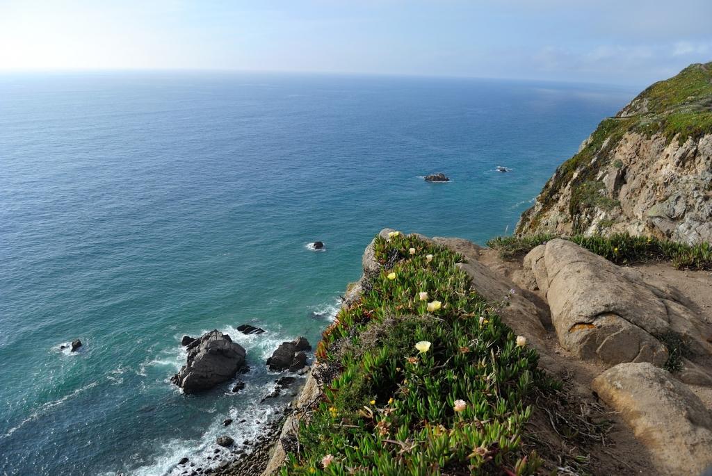 cliffs at Cabo da Roca, Portugal | www.missathletique.com
