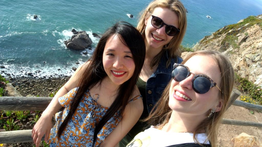 friends at cabo da roca