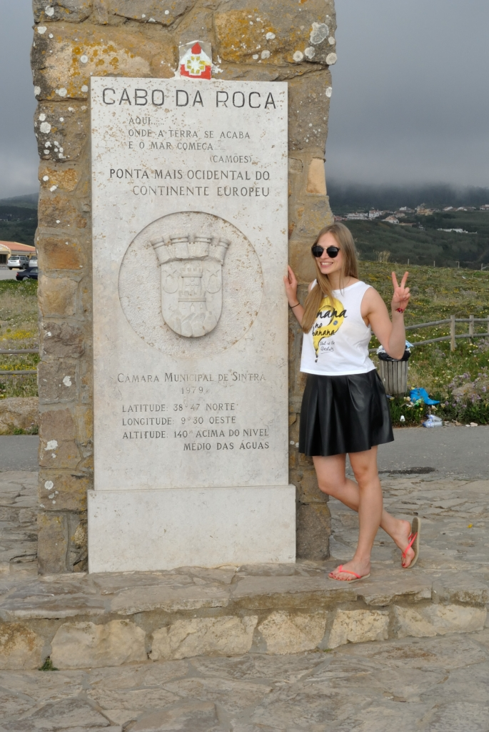 Cabo da Roca - the westernmost extent of Continential Europe | www.missathletique.com