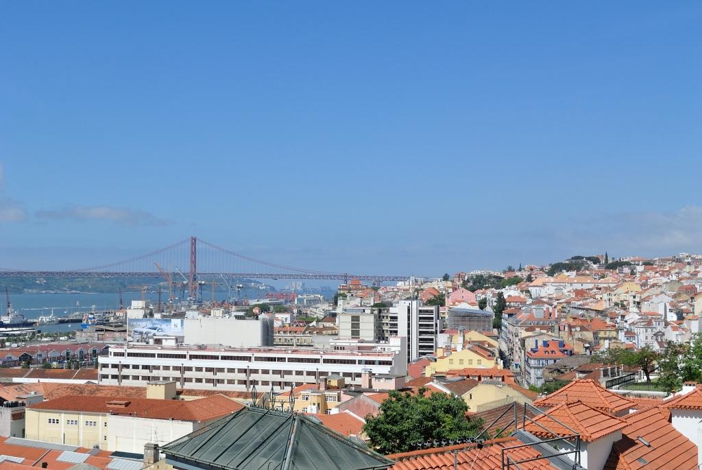 rooftops of Lisbon by Miss Athlètique | www.missathletique.com