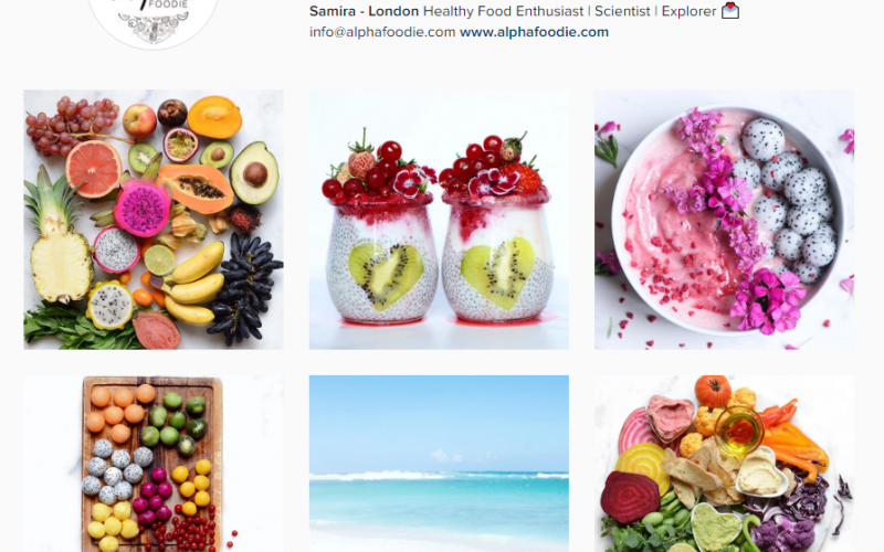 Top 10 Inspiring fit food Instagrammers to follow now