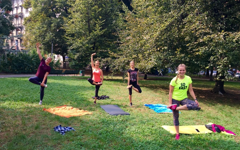 Park circuit training routine that will make you sweat