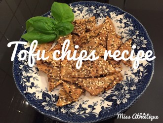 Easy homemade tofu chips recipe you must try