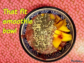 That fit smoothie breakfast bowl you need