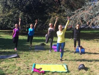 Park cross training exercises to increase endurance