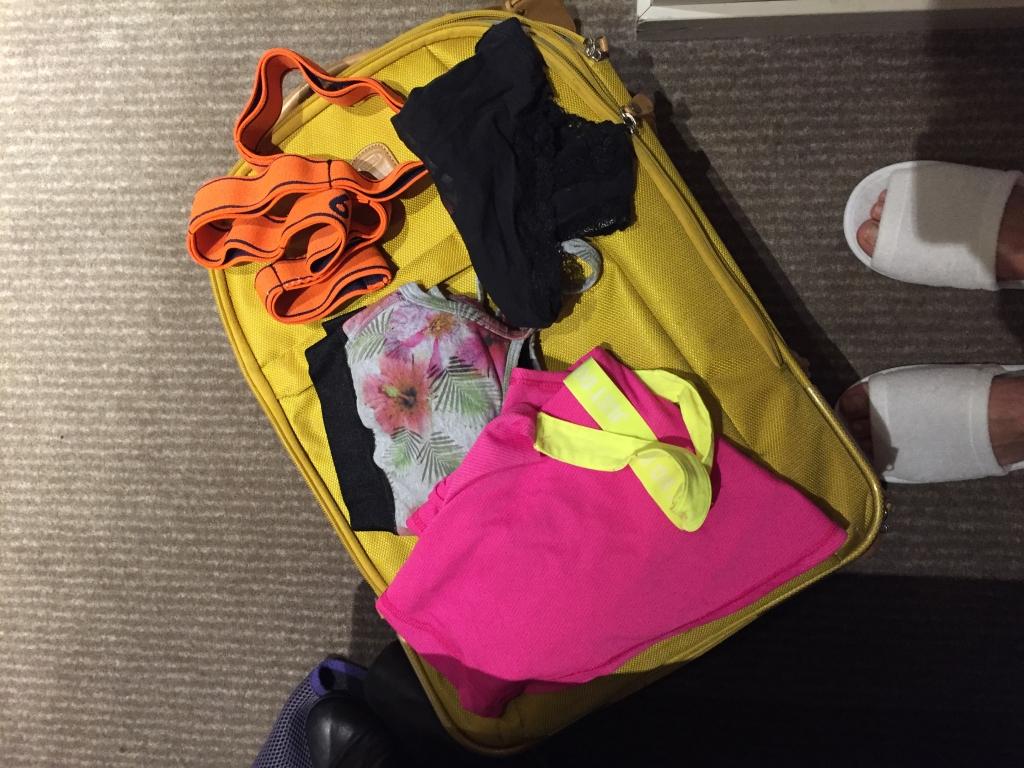 My travel workout kit essentials | www.missathletique.com