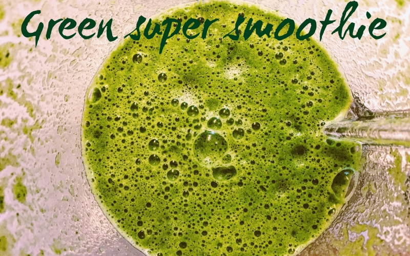 How to make your green smoothie