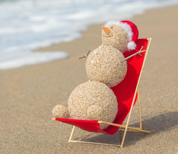 sunbathing sandman