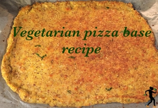 How to make a vegetarian pizza base